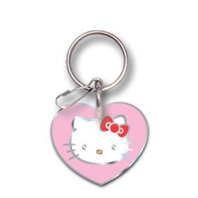 Show details of Plasticolor 004027R01 Hello Kitty Enamel Key Chain.