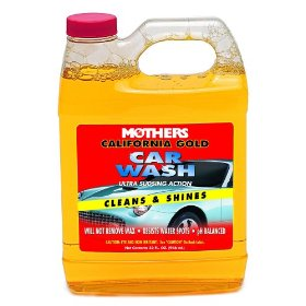 Show details of Mothers 05632 California Gold Car Wash - 32 oz.