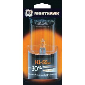 Show details of GE Nighthawk H1-55NH/BP Automotive Replacement Bulb, Pack of 1.