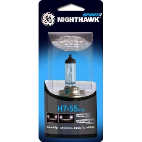 Show details of GE Nighthawk SPORT H7-55NHS/BP Automotive Replacement Bulb, Pack of 1.