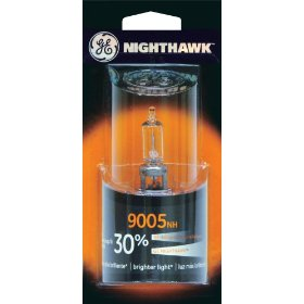 Show details of GE Nighthawk 9005NH/BP Automotive Replacement Bulbs, Pack of 1.
