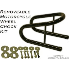 "Show details of Removable Motorcycle Wheel Chock Kit 5.5""."