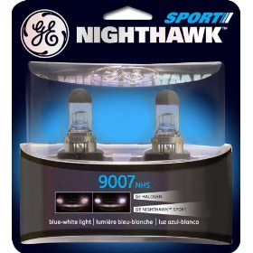 Show details of GE Nighthawk SPORT 9007NHS/BP2 Automotive Replacement Bulbs, Pack of 2.