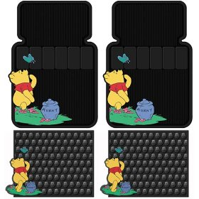 Show details of Winnie The Pooh 4 Pc Floor Mats Set.