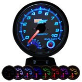 Show details of Tinted 7 Color 3 3/4 Tachometer Gauge w/ Shift Light.