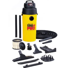 Show details of Shop-Vac 952-02-62 Hang Up Pro 5-Gallon 4.5 HP Wet/Dry Wall Mounted Vacuum.