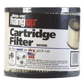 Show details of Shop-Vac 903-98-00 Small Cartridge Filter.