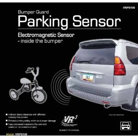 Show details of NEW VR3 CAR BACK UP BUMPER GUARD PARKING SAFETY SENSOR.