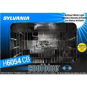 Show details of Sylvania H6054CB Cool Blue Halogen Headlight Bulb.