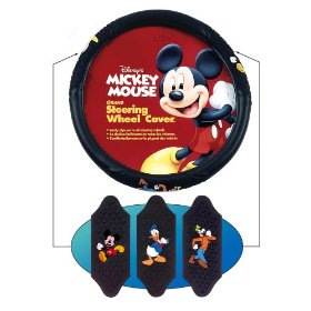 Show details of Mickey And Friends Steering Wheel Cover.