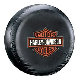 Show details of PlastiColor 796 Harley-Davidson Spare Tire Cover.