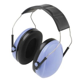 Show details of AO Safety 973150 Select Slim Ear Muffs, Blue.