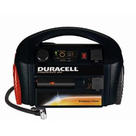 Show details of Duracell DPP-300EP Powerpack 300 with Built-in 300-watt Inverter and 250 PSI Air Compressor.