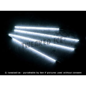 Show details of White Underglow Underbody 4 Pc Car Neon Kit Lights - Brand New - FREE SHIPPING.
