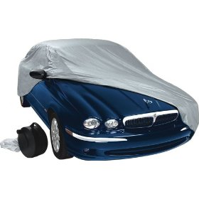 "Show details of Quick & Easy Car Cover: Fits Cars 170"" - 200""."