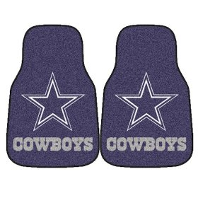 Show details of Fanmats NFL - Dallas Cowboys Car Mats #5724'.