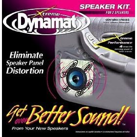 Show details of Dynamat 10415 Xtreme Speaker Kit 2 Sheets.