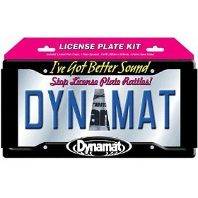 Show details of Dynamat 19100 License Plate Kit.
