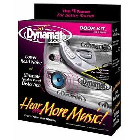Show details of Dynamat 10435 Xtreme Door Kit 4 Sheets.