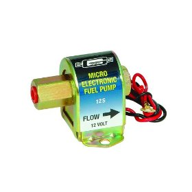 Show details of Mr. Gasket 12S Micro Electric Fuel Pump.