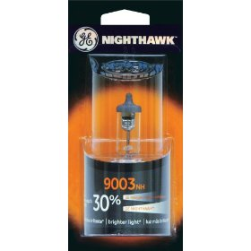 Show details of GE Nighthawk 9003NH/BP Automotive Replacement Bulbs, Pack of 1.