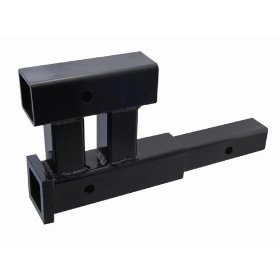 "Show details of Dual 2"" Hitch Bicycle Receiver Adapter Extender Extension 4000lb."