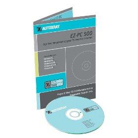 Show details of AutoXray EZ-PC 500 Software.