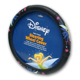 Show details of Tinker Bell Pixie Power Steering Wheel Cover.