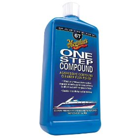 Show details of Meguiar's M6732 Marine One-Step Compound - 32 oz..