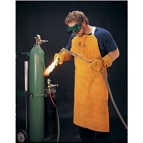 Show details of US Forge 99406 Leather Welding Apron with 42-Inch Bib.
