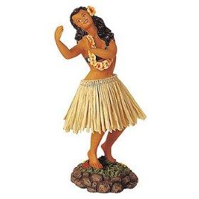 Show details of HULA GIRL DASHBOARD SHAKER BOBBLE - HULA DANCER.