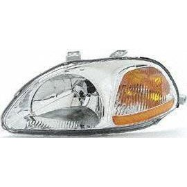 Show details of 96-98 HONDA CIVIC HEADLIGHT LH (DRIVER SIDE), COMBO (1996 96 1997 97 1998 98) 20-3162-01 33151S01A01.