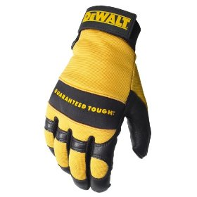 Show details of Dewalt DPG22M Premium Grain High Dexterity Deerskin Leather Work Glove with Palm Spandex Back Velcro Wrist, Medium.