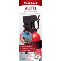 Show details of First Alert FESA5 5-B:C Auto Fire Extinguisher Red.