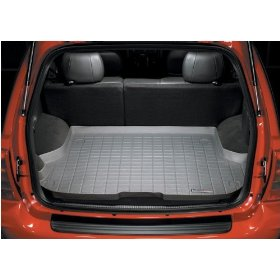 Show details of WeatherTech 40268 Black Rubber Cargo Liner.