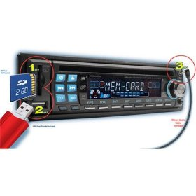 Show details of NEW VR3 CD WMA MP3 PLAYER RDS CAR STEREO w/ EQUALIZER.