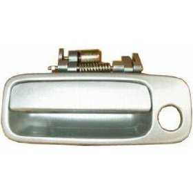 Show details of 97 98 99 00 01 Toyota Camry LH Outside Door Handle SILVER 1C8.