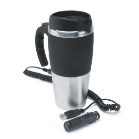 Show details of 12V, Travel Mug, Stainless Steel.
