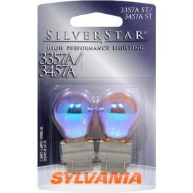 Show details of Sylvania 3357A/3457A ST SilverStar High Performance Signal Lighting.