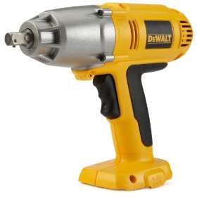 Show details of Bare-Tool DEWALT DW059B 18-Volt High Torque Impact Wrench (Tool Only, No Battery).