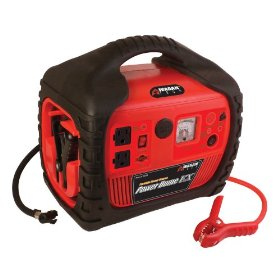 Show details of Wagan 400-Watt Power Dome EX Jumpstarter with Built-In Air Compressor.
