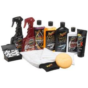 Show details of Meguiar's Complete Car Care Kit.