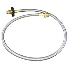 Show details of Freedom Grill FG-50HA Stainless Steel Propane Hose Adapter.