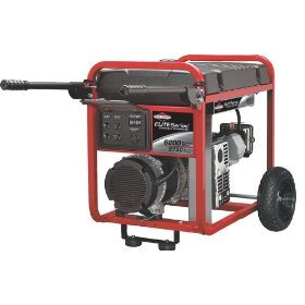 Show details of Briggs & Stratton 30242 6,200-Watt 11 HP Portable Generator.