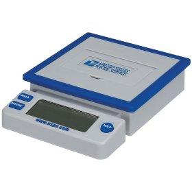 Show details of USPS PS-100 10 lb. Desk Top Postal Scale.