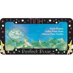 "Show details of ""Tink"" Glitter Tinkerbell License Plate Frame (Plastic)."