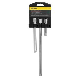Show details of Stanley 85-706 3 Piece 3/8-Inch Drive Extension Bar Set.