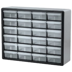 Show details of Akro 10724 24 Drawer Cabinet.