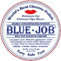 Show details of Blue Job Chrome Polish.