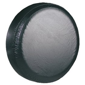 Show details of Global Accessories 01520-01; Large Black Spare Tire Cover.